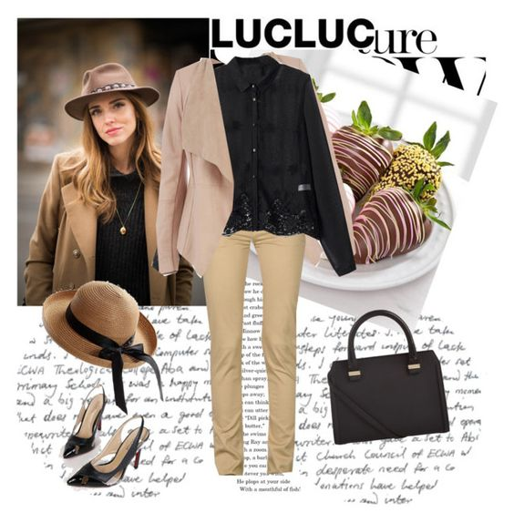 """LUCLUC 30/1"" by fashionb-784 ❤ liked on Polyvore"