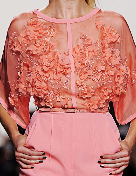 Fuck Yeah Fashion Couture | Elie Saab Spring-Summer 2014
