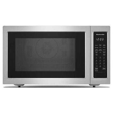 Shop Kitchenaid 1 5 Cu Ft 1400 Watt Countertop Convection Microwave Stainless Steel Stainless Steel Microwave Countertop Microwave Microwave Convection Oven