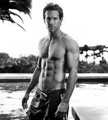 ryan reynolds....words aren't necessary, just look and enjoy.