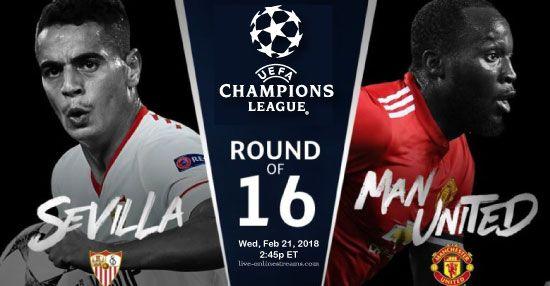 Man United Vs Sevilla English League Uefa Champions League English Premier League
