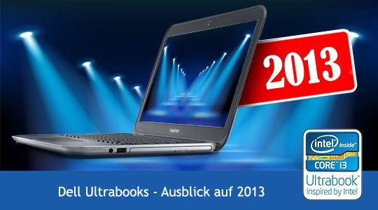 Neue Dell Ultrabook Reihe – ein Blick ins Jahr 2013