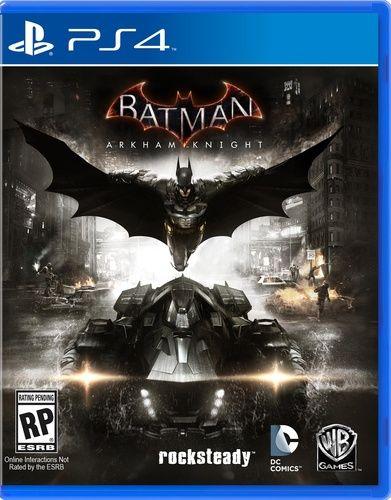 BATMAN - ARKHAM KNIGHT (PS4)