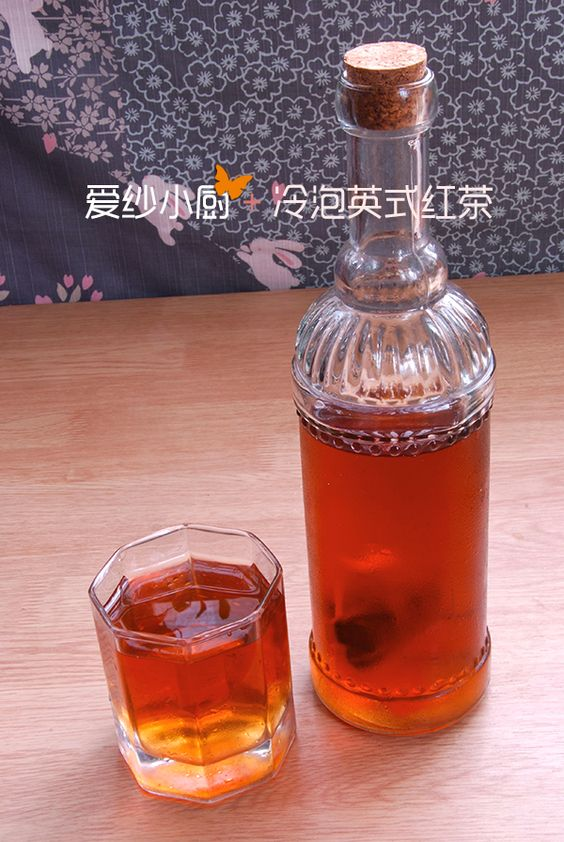 #Drink# Cold Black Tea~