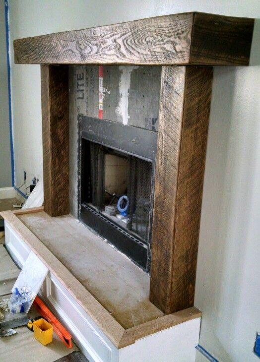 Hand Hewn Douglas Fir Mantel Corbels Legs Home Fireplace Fireplace Rustic Fireplace Mantels