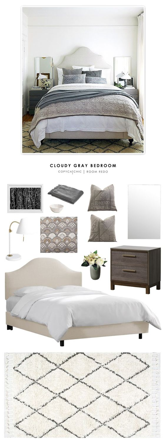 Copy Basement Bedroom Gray Bedroom Modern Bedroom Bedrooms Chic