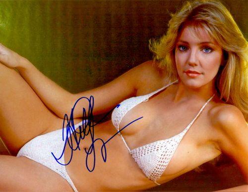 Heather Locklear – Original signiertes Großfoto ca. 20x25cm der wunderschönen Seriendarstellerin. www.starcollector.de