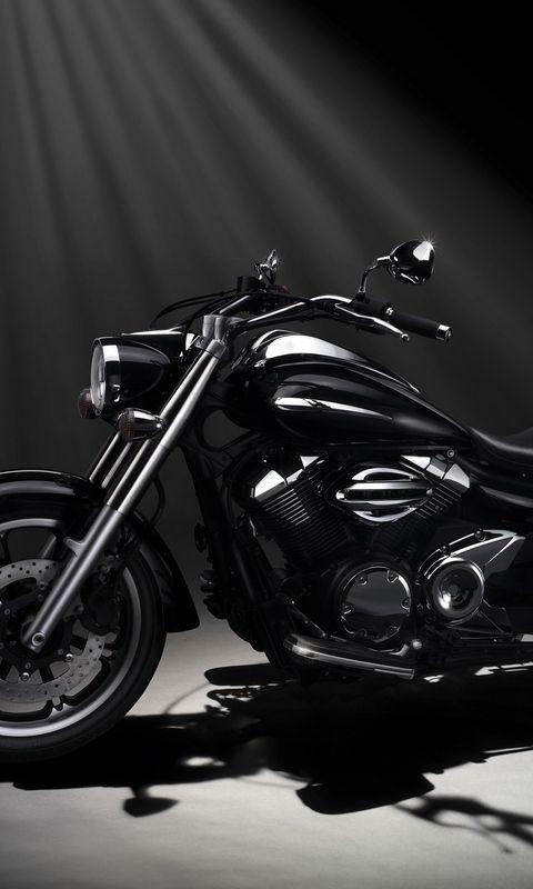 Download Wallpaper 480x800 Yamaha Xvs950a Midnight Star Motorcycle Nokia X X2 Xl 520 620 820 Samsung Motorcycle Wallpaper Star Motorcycles Motorcycle Black motorcycle wallpaper hd