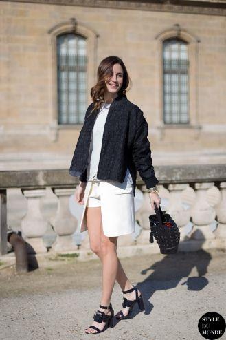 STYLE DU MONDE / Paris Fashion Week FW 2014 Street Style: Gala Gonzalez  // #Fashion, #FashionBlog, #FashionBlogger, #Ootd, #OutfitOfTheDay, #StreetStyle, #Style