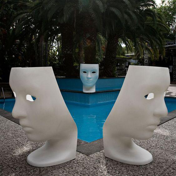 The Nemo chair was designed for Driade by Fabio Novembre.