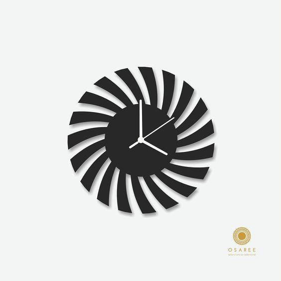 Modern Wall Clocks Amazon