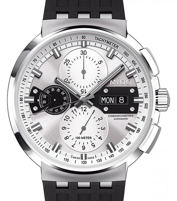 Mido | All Dial Chronograph | Edelstahl | Uhren-Datenbank watchtime.net