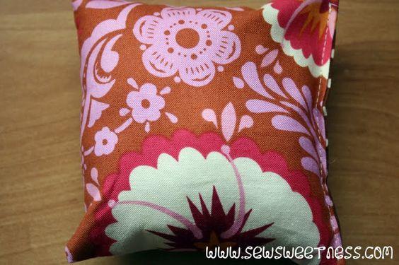 Costurar Doçura: Tutorial: Lixo na Cadeira Tronco Almofadas