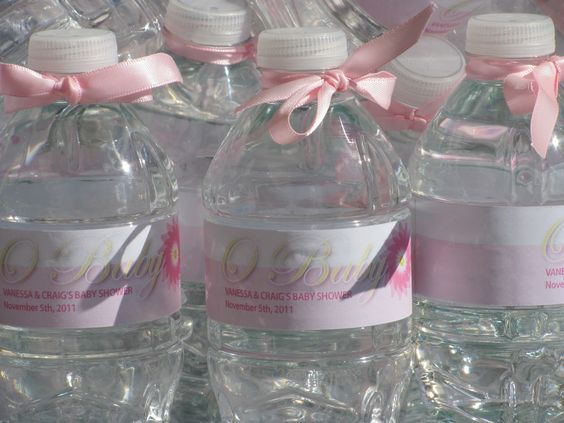 And water bottle labels