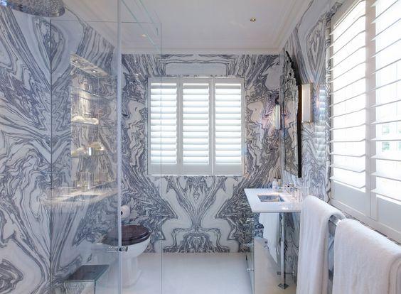 Woow! Amazing marble - INTERIOR DESIGN ∙ LONDON HOUSES ∙ KNIGHTSBRIDGE - Todhunter EarleTodhunter Earle