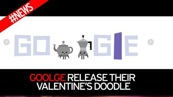 Google release their Valentine's day doodle