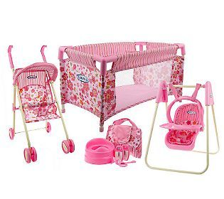 Baby Doll Furniture And Accessories Graco Total Nursery