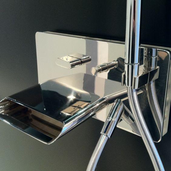 Treemme | Unterputz-Wannenfüllmischer Pao Spa | für Badewannen | Design: Giancarlo Vegni | verschiedene Oberflächen wählbar