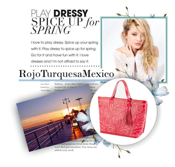 """RojoTurquesaMexico 1"" by julyete ❤ liked on Polyvore featuring Silvana"