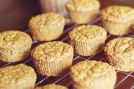 Moist Pumpkin Protein Muffins