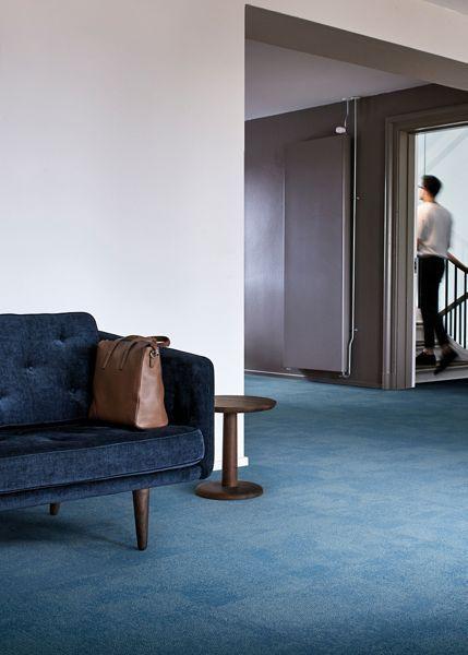 Composure By Interface Is A Random Carpet Tile That Creates A