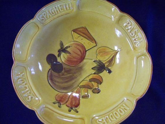 Los Angeles Potteries Plate