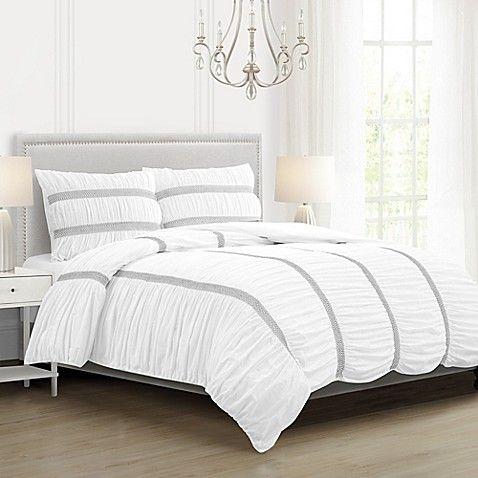 White Ruffle Comforter Set Comforter Sets Luxury Bedding Master Bedroom Twin Size Comforter
