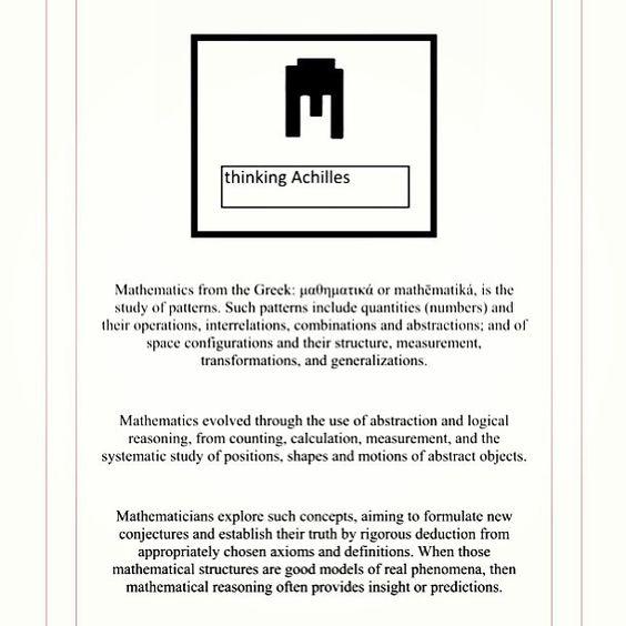 TDOM | The Definition of Mathematics