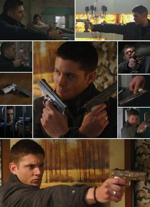 Dean & his guns