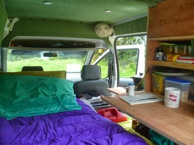 Somewhere along the road... My small Ford Transit Connect T230L Van 1,8TDCI 81kW diesel minivan was bought second hand in Holland and shipped to Bonaire, Dutch Caribbean. Then in