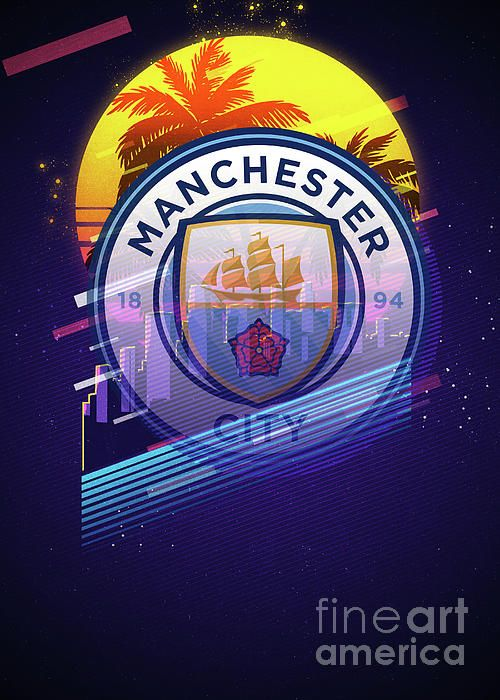 Manchester City By Cu Hung Manchester City Manchester City Wallpaper Manchester City Logo Football wallpaper 4k man city