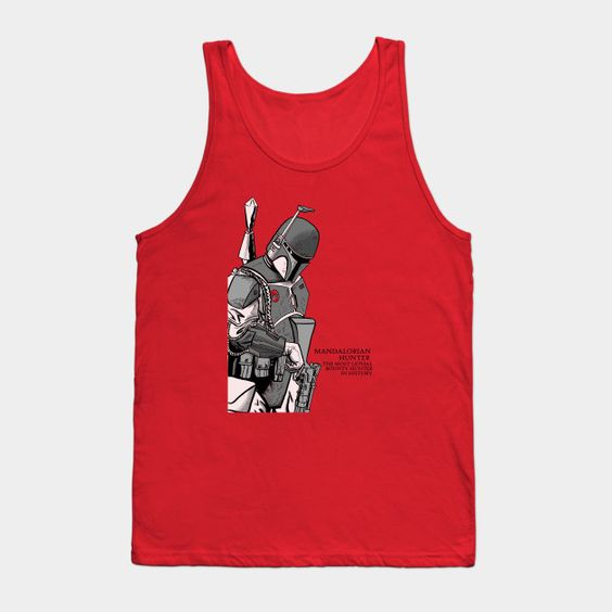 Mandalorian Hunter - Mens Tank Top