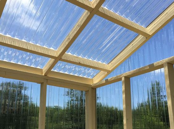 This Photo About Disadvantages Of Polycarbonate Greenhouse Plastic Panels Entitled As Corrugated Clear Roof Panels Polycarbonate Greenhouse Greenhouse Panels