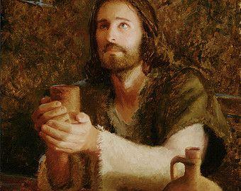 Jesus Christ Art Print In Return by Artist Jared by JaredBarnesArt