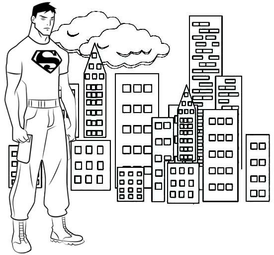 Pin By Pengadaan Indonesia On Superboy Coloring Pages Coloring Pages For Kids Coloring For Kids Superman Coloring Pages