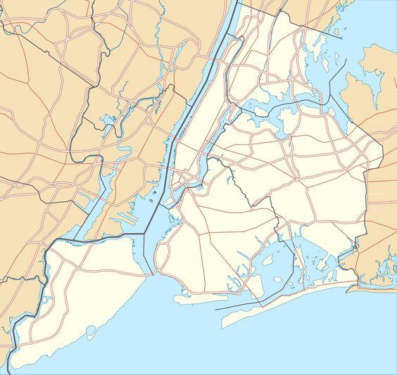 Triborough Bridge New York City Hart Island Roosevelt Island