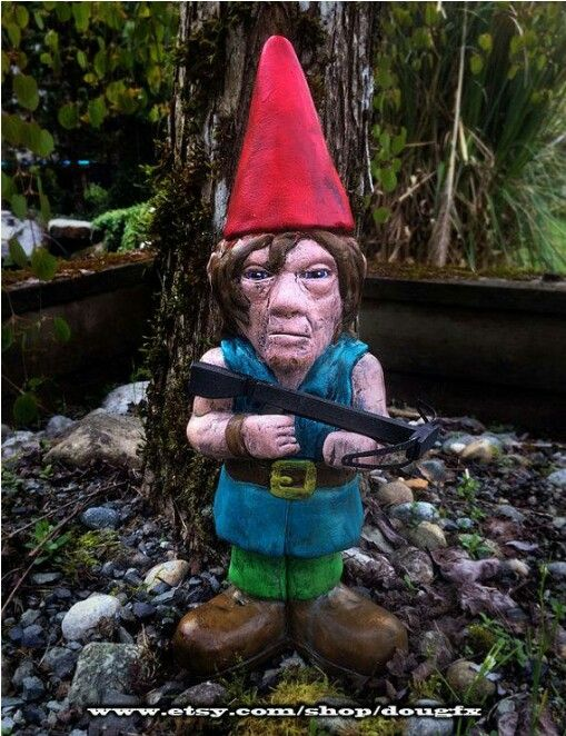 Image result for gnomes fighting walking dead