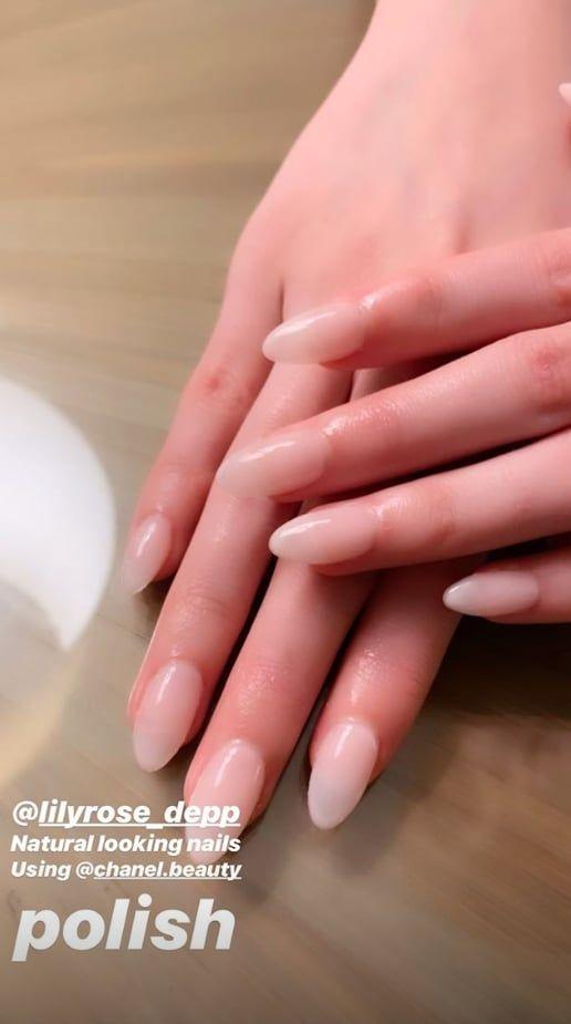Lily Rose Depp Les Nails Rose Nails Dream Nails