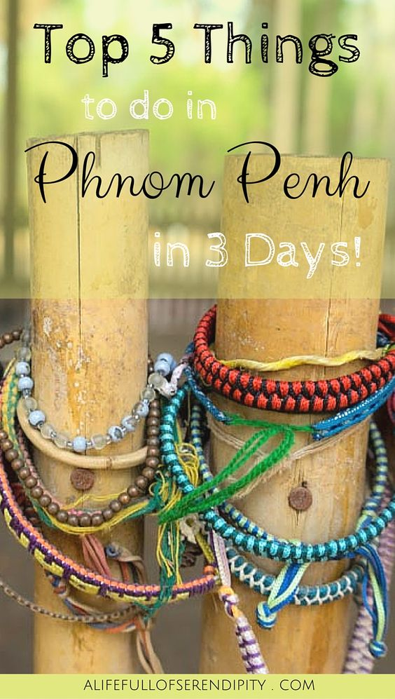 Top Things to do in Phnom Penh Cambodia. Phnom Penh has so much to offer and we discovered some pretty cool things to do while in the city. We found three days is more than enough to explore the highlights. See for yourself and click on the Pin!