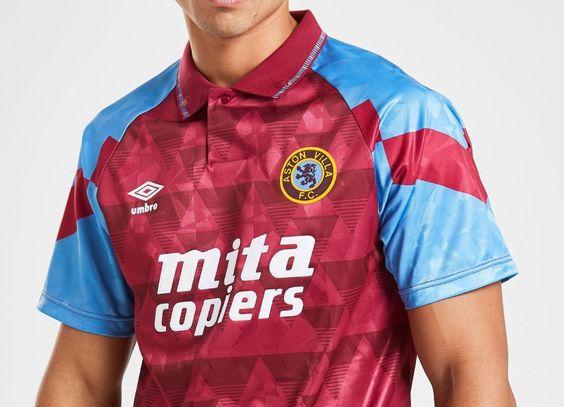 Aston Villa Baby Polo Shirt Tee Top Football Sports Claret Boys