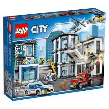 Lego City Police Station Set 60141 Lego City Police Station Lego City Lego City Police