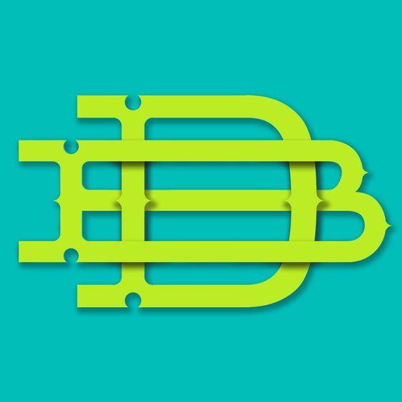 DB monogram Doug Bartow: id29