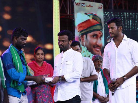 Actor Vishal At Sandakozhi 2 Movie Audio Launch