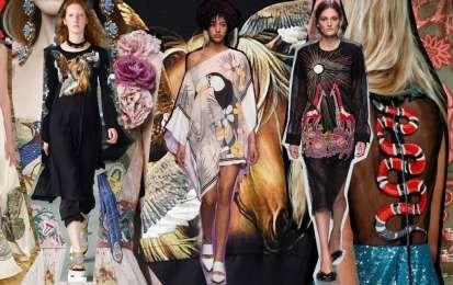 Abiti con animali, tendenza Primavera-Estate 2016 - Animali su abiti e accessori