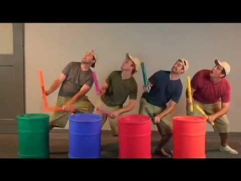 Junk Rock - Boom Boom! - YouTube >>> performance piece idea.