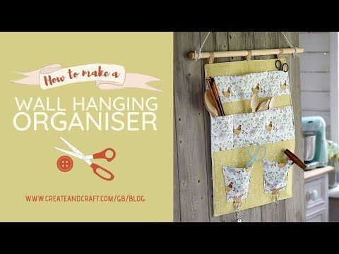 What Better Way To Keep Your Space Neat And Organised Than With A Hanging Wall Organizer Fo Diy Wall Hanging Organizer Create And Craft Hanging Wall Organizer