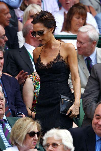 Victoria Beckham at Wimbledon 2013.