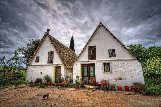 Barraca, traditional house of Valencia