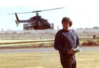 Larry Jolly and Airwolf model