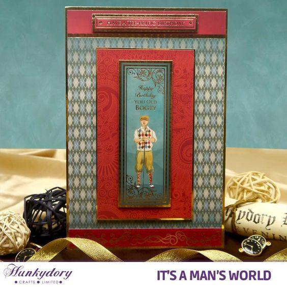 It's a Man's World - Hunkydory | Hunkydory Crafts